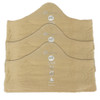 XL Beige More of Me to Love Bamboo Bra Liners