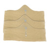 2XL Beige More of Me to Love Bamboo Bra Liners