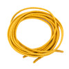 Stretch Elastic Shoelaces Curled Yellow