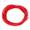 Stretch Elastic Shoelaces Curled Red