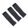 Stretch Elastic Bra Extender 3-Pack Black 2-Hook