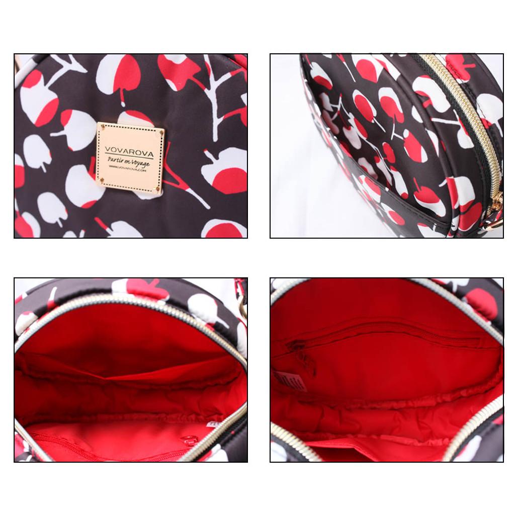 Crêpe Mini Sling - Cherrypicks - Red