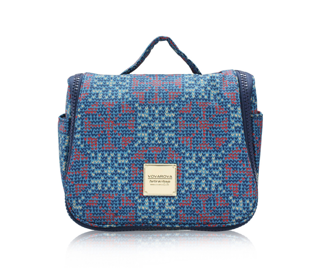 Travel Toiletry Bag - Nordic Tale - Blue