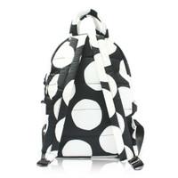 Backpack Medium - POP DOT – Black White