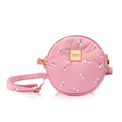 Crêpe Mini Sling - French Pom Pom - Apple pink