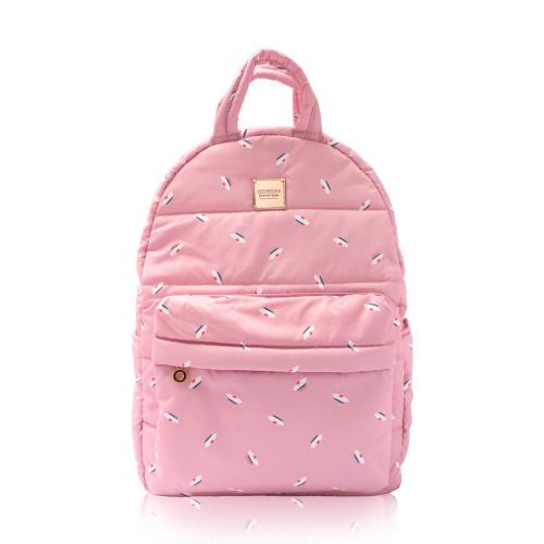 Backpack medium - French Pom Pom - Pink