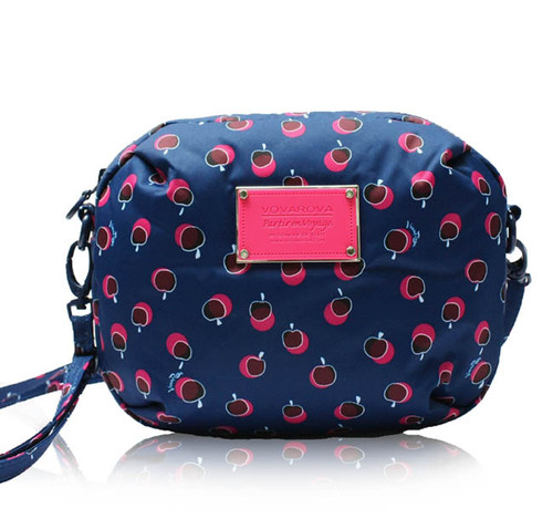 Mini Sling Bag - Dotty Apple - Pink