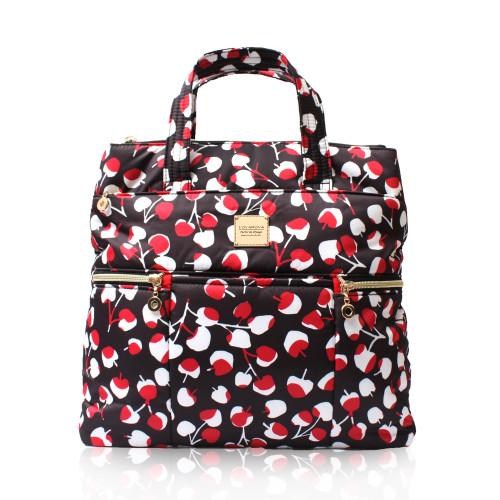 Convertible Satchel / Backpack - Cherrypicks -Red