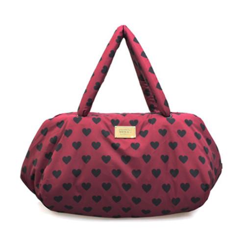 Travel Bag - Burgundy Love