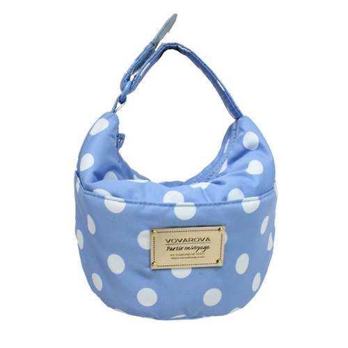 Cutie Lunch Out Sac - Dotty - Skyblue