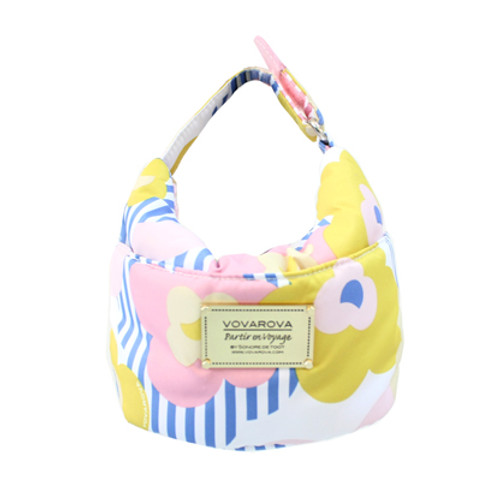 Cutie Lunch Out Sac - Stripped Floral