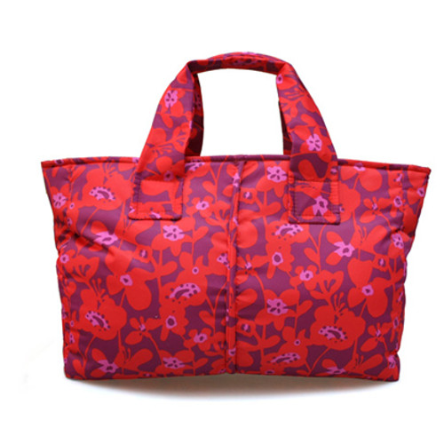 Document Sac - Liana Floral - Hot Orange