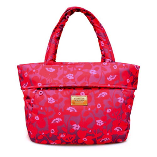 Postman Bag - Liana Floral - Hot Orange
