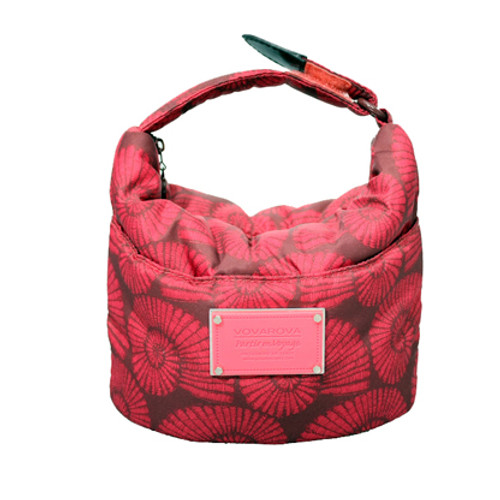 Cutie Lunch Out Sac - Spiral Shell - Red/Pink