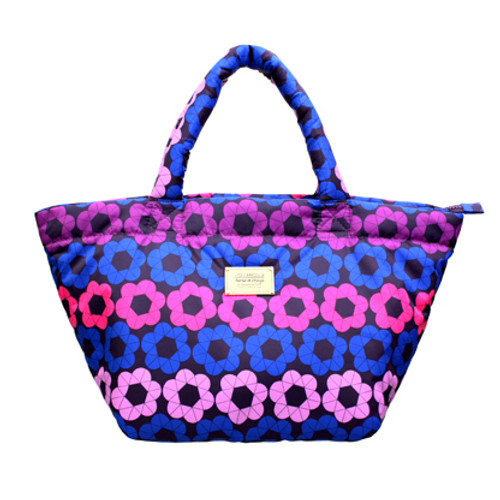 Small Tote - Puzzled Floral
