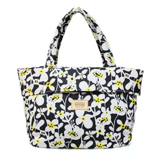 Postman Bag - Liana Floral - Black