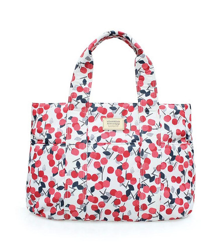 Carryall Tote Bag - Cherry Love