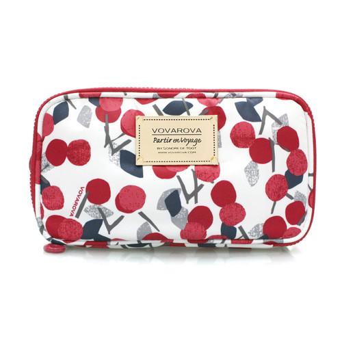 Compact Brush Case - Cherry Love