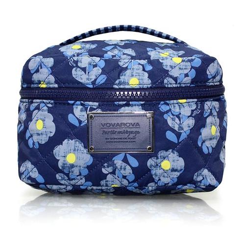 Vanity Case - Little Secret Garden Blue