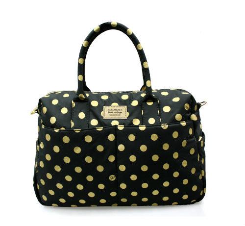 Boston Bag - Golden Dotty