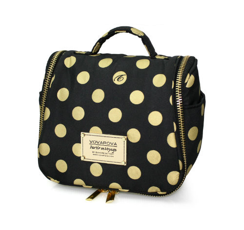Toiletry Pouch - Golden Dotty