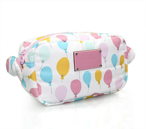 Travel Cosmetics Pouch With Ribbon - Dreaming In The Air