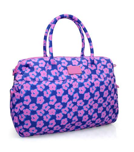 Boston Bag - Leopard Illusion - Pink
