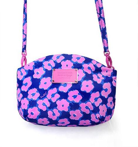 Sling Bag - Leopard Illusion - Pink