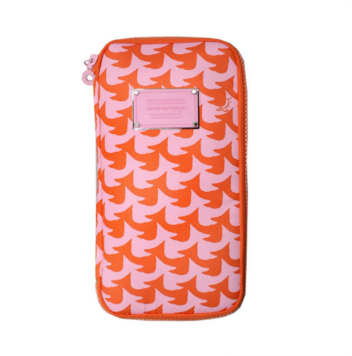 Travel Wallet - Checker in Vogue - Pink