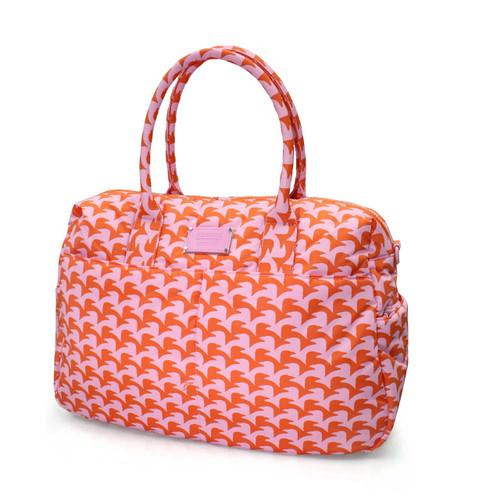 Boston Bag - Checker in Vogue - Pink