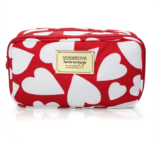 Compact Brush Case - Endless Love - Red