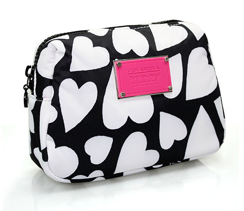Daily Makeup Pouch - Endless Love - Black