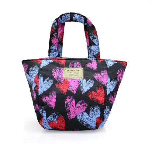 Mini Sac - Dancing Hearts - Black