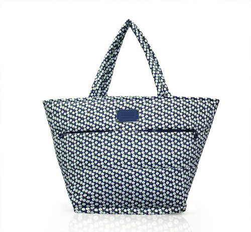 Padded Tote - Morning Glory Flower