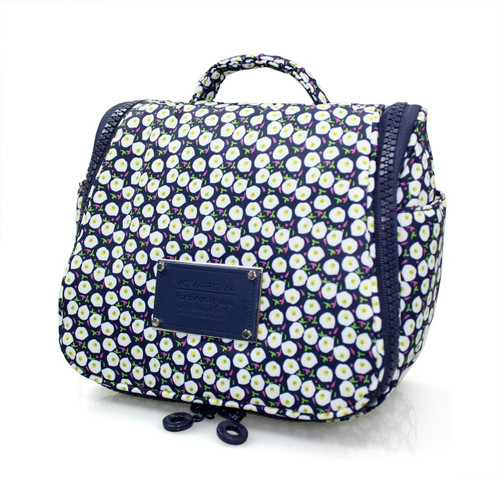 Toiletry Pouch - Morning Glory Flower