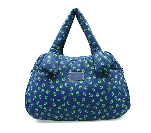 Ribbon Day Bag - Dotty Apple - Green