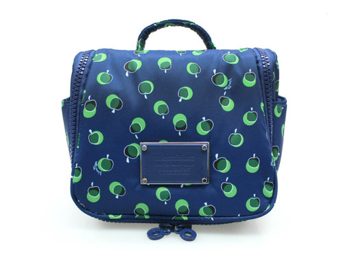 Toiletry Pouch - Dotty Apple - Green