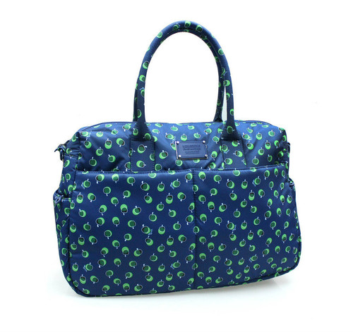 Boston Bag - Dotty Apple - Green