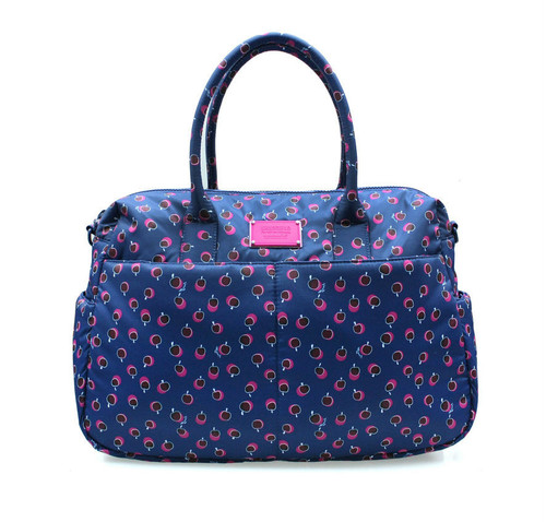 Boston Bag - Dotty Apple - Pink