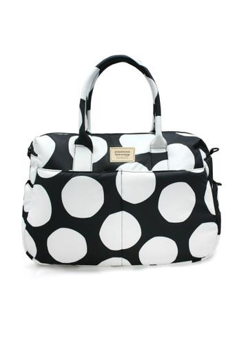Boston Bag - Pop Dot - Black & White