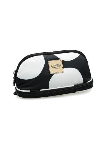 Makeup Pouch - Pop Dot - Black & White