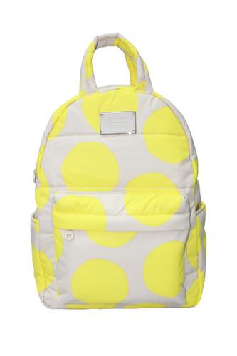 Backpack Medium - POP DOT – Beige Yellow