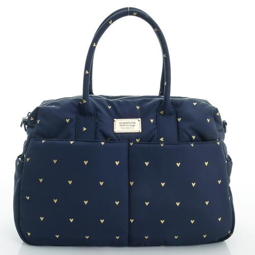 Boston Bag - Mini Heat - blue