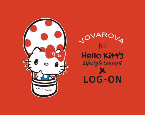 Hello Kitty帶著Vovarova遊世界