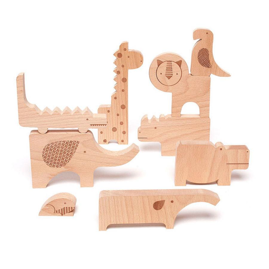 Safari Puzzle Blocks