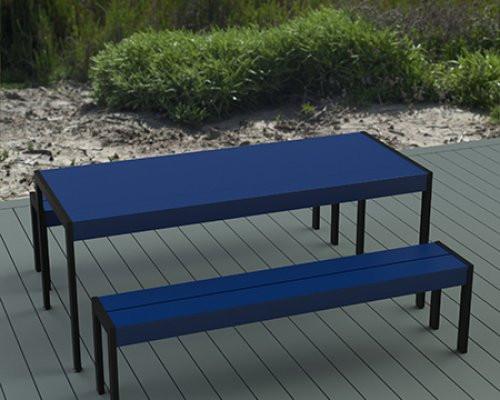 Mobillier de Jardin - Banquette - Table Bench