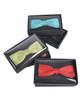 Boxed Boy's Poly Satin Banded Clip On Bow Ties - BBC1701BX