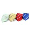Striped Microfiber Poly Woven Tie - MPW5815