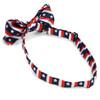 Men's U.S Flag Pattern Banded Bow Tie