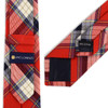 "Men's Plaid Flannel 2.25"" Cotton Slim Tie - MPPW1636"